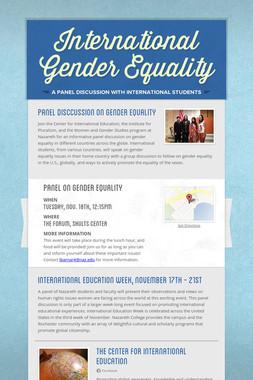 International Gender Equality