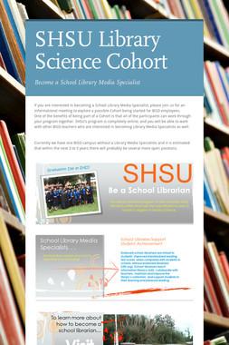 SHSU Library Science Cohort