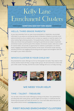 Kelly Lane Enrichment Clusters