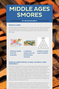 Middle Ages Smores