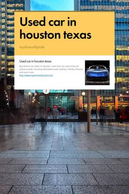 Used car in houston texas
