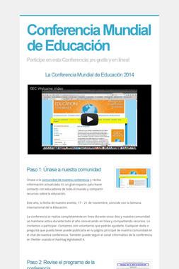 Conferencia Mundial de Educación