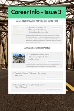 Career Info - Issue 3