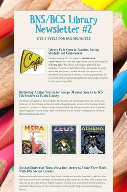 BNS/BCS Library Newsletter #2