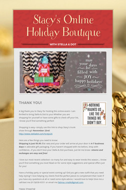 Stacy's Online Holiday Boutique