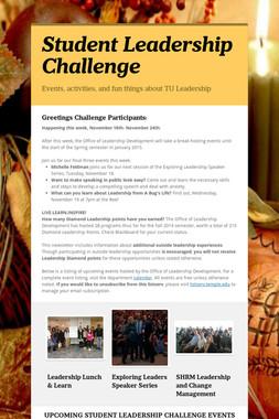 Student Leadership Challenge