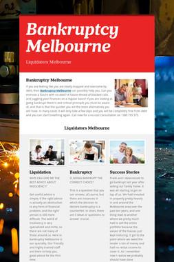 Bankruptcy Melbourne