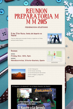 REUNION PREPARATORIA M M M 2015