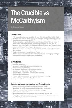 The Crucible vs McCarthyism
