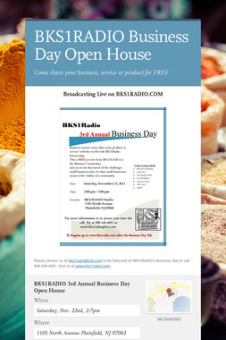 BKS1RADIO Business Day Open House
