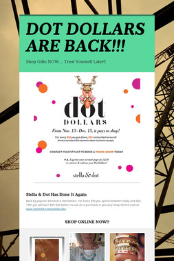 DOT DOLLARS ARE BACK!!!