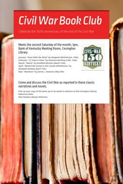 Civil War Book Club