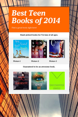 Best Teen Books of 2014