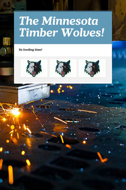 The Minnesota Timber Wolves!