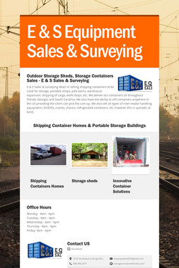 E & S Equipment Sales & Surveying