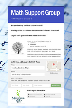 Math Support Group