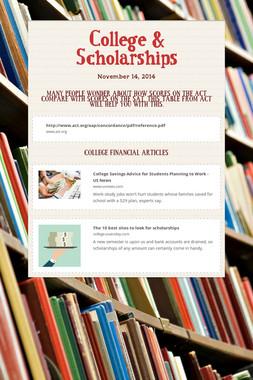College & Scholarships
