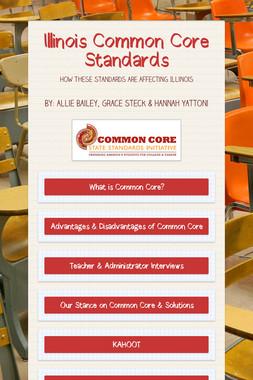 Illinois Common Core Standards