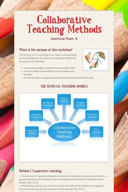 Collaborative Teaching Methods