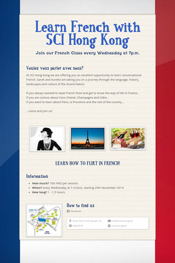 Learn French with SCI Hong Kong