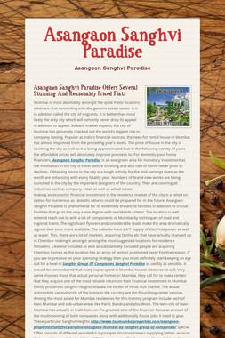 Asangaon Sanghvi Paradise