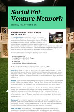 Social Ent. Venture Network
