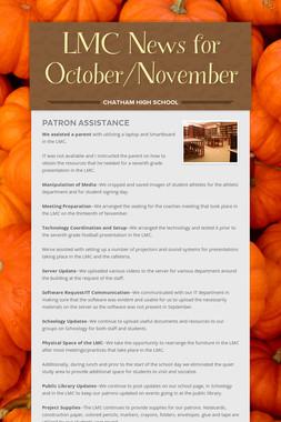 LMC News for October/November