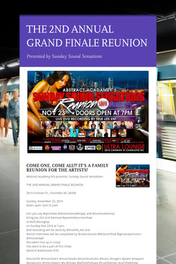 THE 2ND ANNUAL GRAND FINALE REUNION