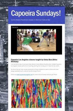 Capoeira Sundays!