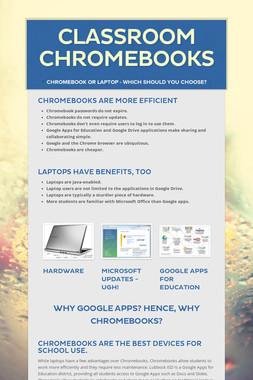 Classroom Chromebooks