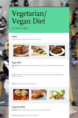 Vegetarian/ Vegan Diet