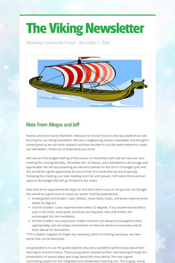 The Viking Newsletter