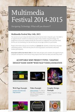 Multimedia Festival 2014-2015