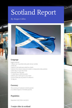 Scotland Report