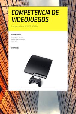 COMPETENCIA DE VIDEOJUEGOS