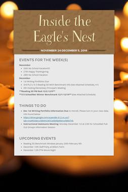 Inside the Eagle's Nest