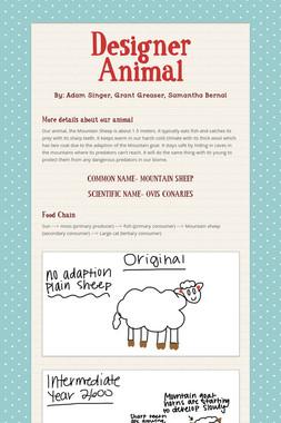 Designer Animal