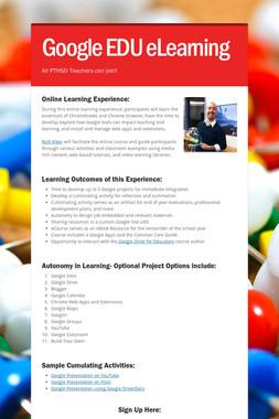 Google EDU eLearning