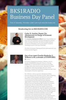 BKS1RADIO Business Day Panel
