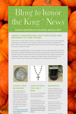 Bling to honor the King * News