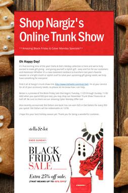 Shop Nargiz's Online Trunk Show