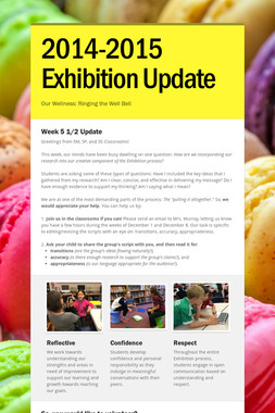 2014-2015 Exhibition Update