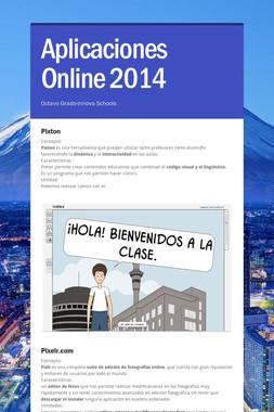 Aplicaciones Online 2014