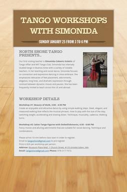 Tango Workshops with Simonida