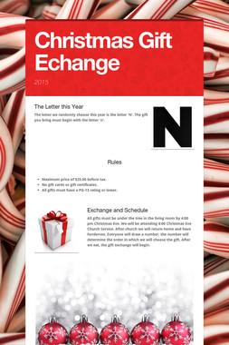 Christmas Gift Echange