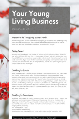 Your Young Living Business