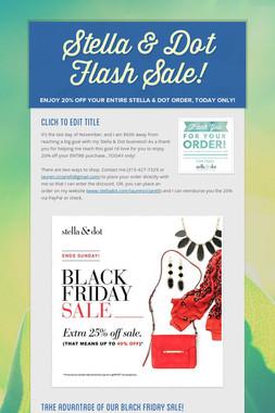 Stella & Dot Flash Sale!