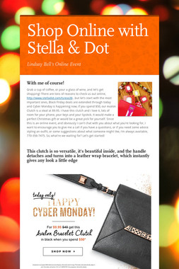 Shop Online with Stella & Dot
