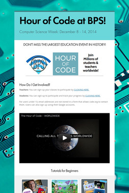 Hour of Code at BPS!