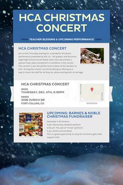 HCA Christmas Concert